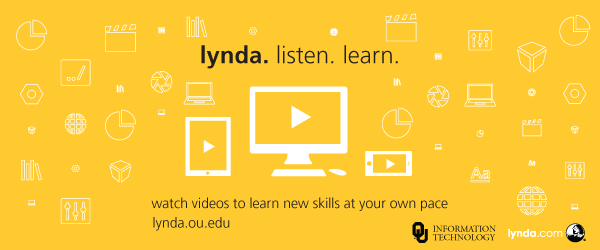 Lynda.ou.edu - Watch videos to learn new skills at your own pace.